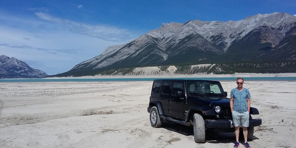 David Thompson Highway - Icefields Parkway - Alberta - Canada - Doets Reizen