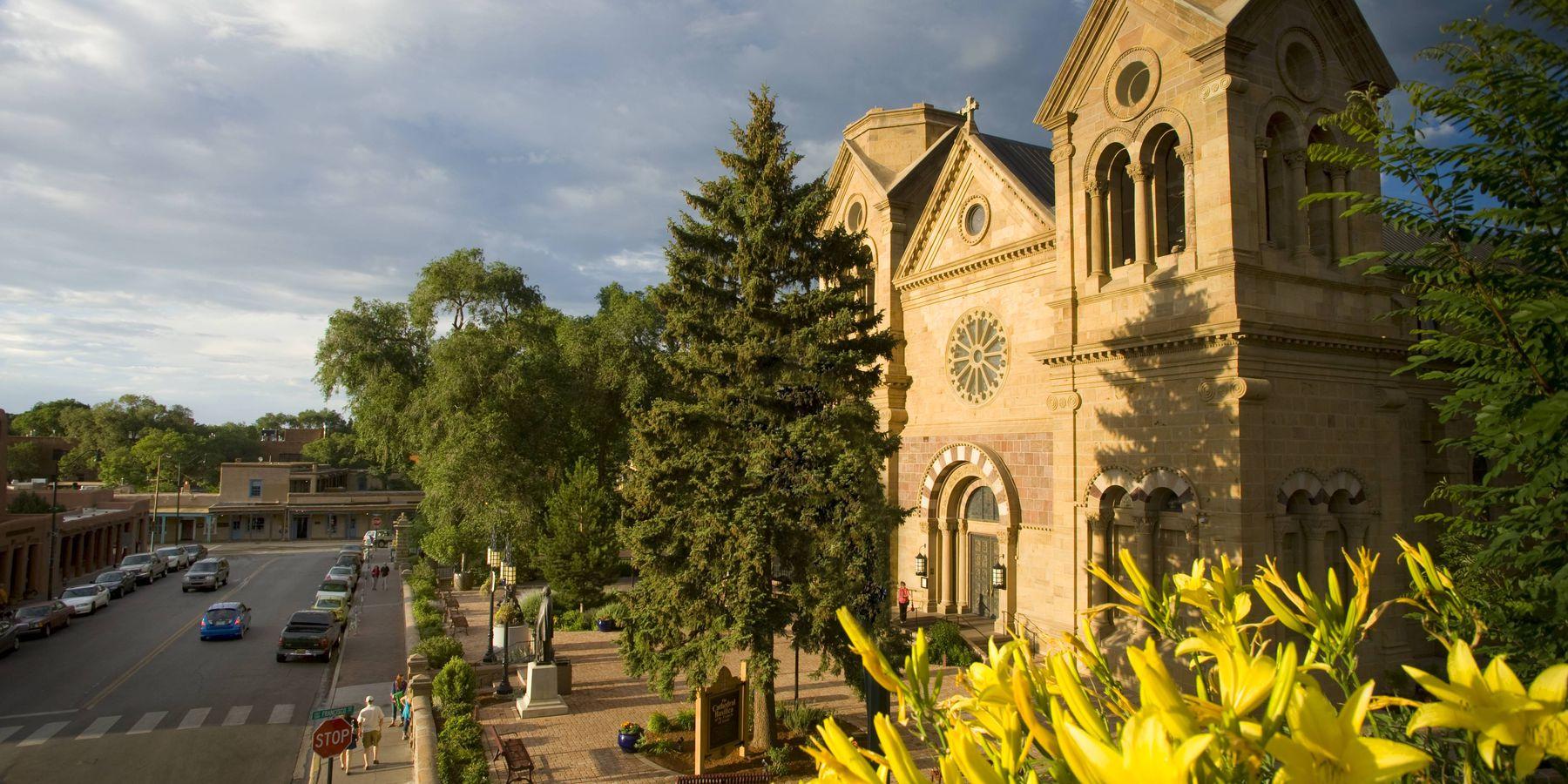 St. Francis Cathedral - Santa Fe - New Mexico - Amerika - Doets Reizen