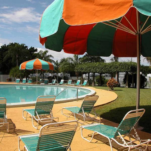 Everglades Campground - zwembad