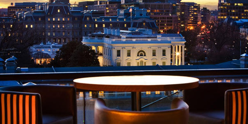 W Rooftop Bar in DC