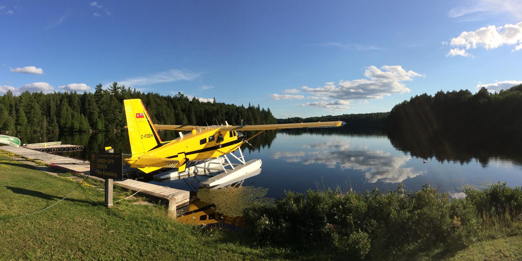 Watervliegtuig Algonquin Provincial Park - Ontario - Canada - Doets Reizen