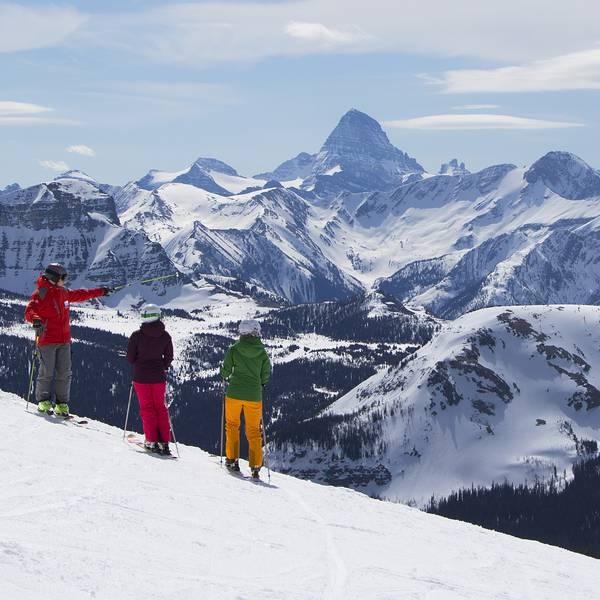 Wintersport - Banff -  Alberta - Canada - Doets Reizen