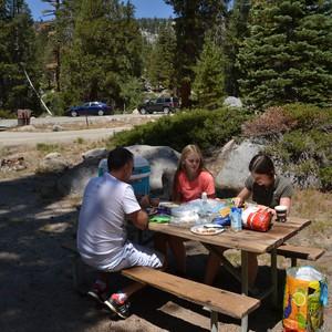 Via Tioga pass naar Sonora - Dag 19 - Foto