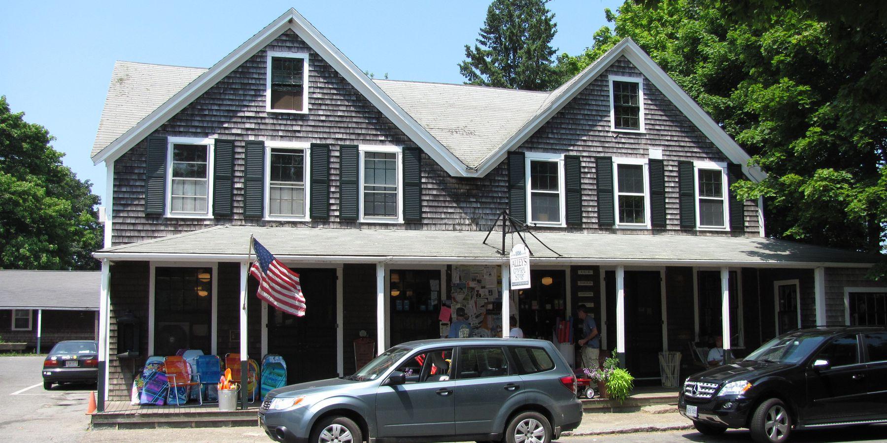 Alley's General Store - Martha's Vineyard - Massachusetts - Doets Reizen
