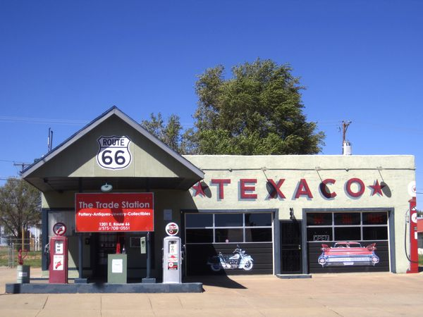 Tucumcari - Route 66 - New Mexico - Amerika - Doets Reizen