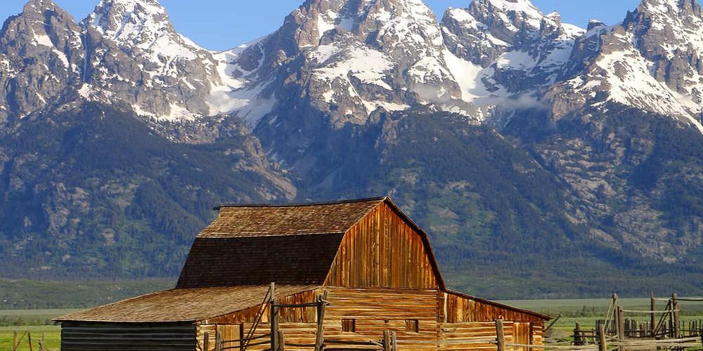 Grand Teton NP in Wyoming