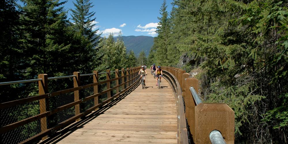 Mountainbiken in de omgeving van Nelson