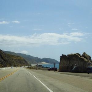 Via Malibu terug naar Los Angeles - Dag 25 - Foto