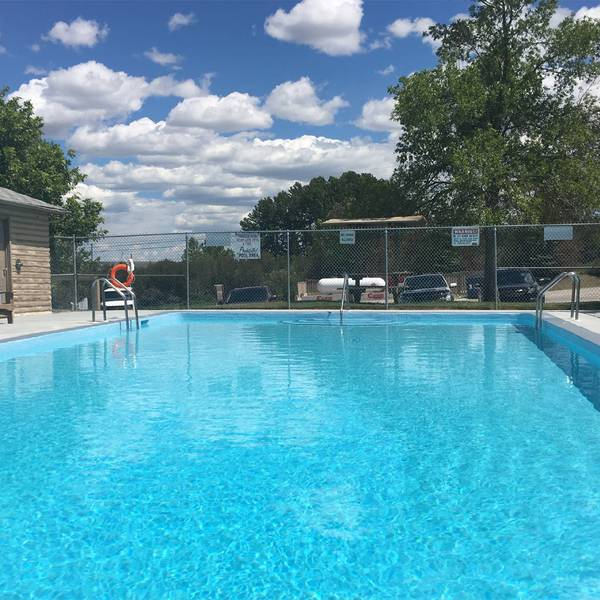 Calgary West Campground swimmingpool
