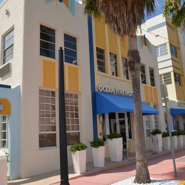 Ocean Five Hotel - voorkant