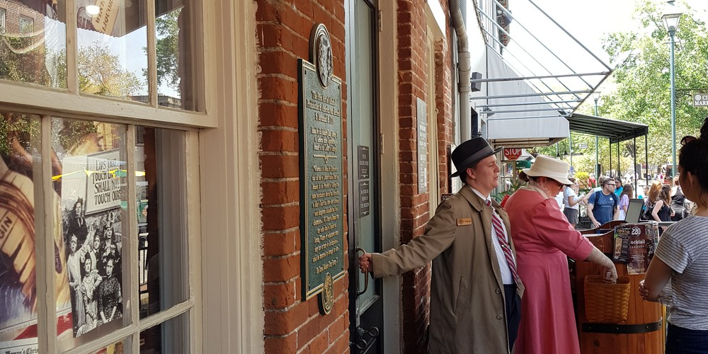 Prohibition Museum - Savannah - Georgia - Amerika - Doets Reizen