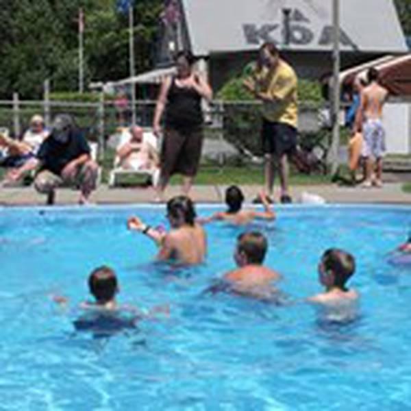Montreal West KOA pool