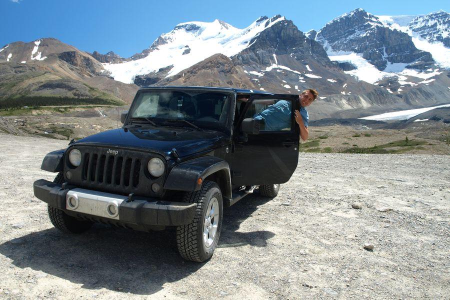 Icefields Parkway - Alberta - Canada - Doets Reizen