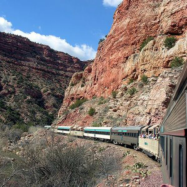 Verde Canyon Railroad, Sedona in Arizona