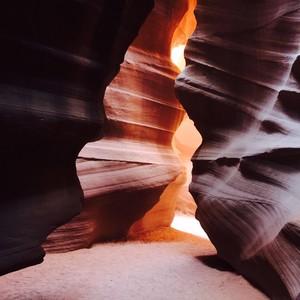 Antilope canyon tour en Bryce NP - Dag 7 - Foto