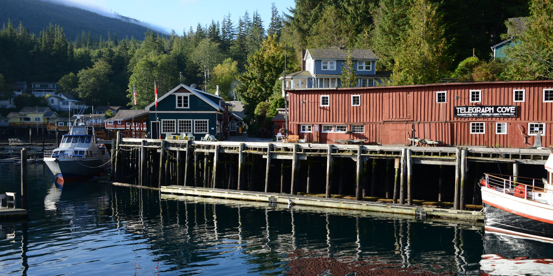 Telegraph Cove Resort - Vancouver Island - British Columbia - Canada - Doets Reizen