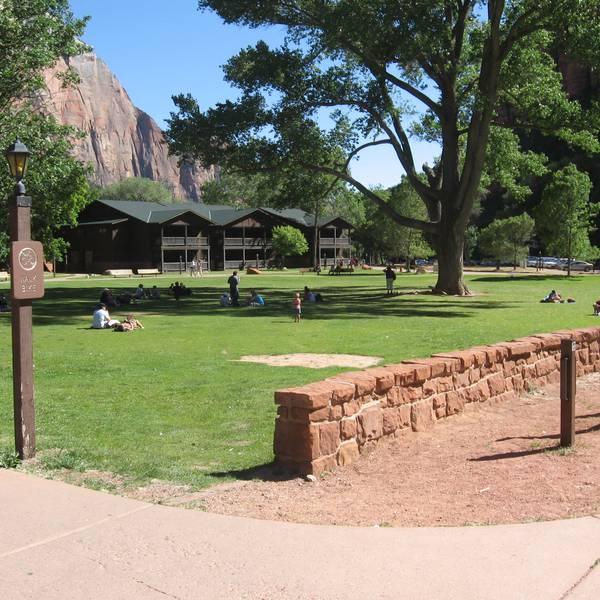 Zion Lodge - overzicht