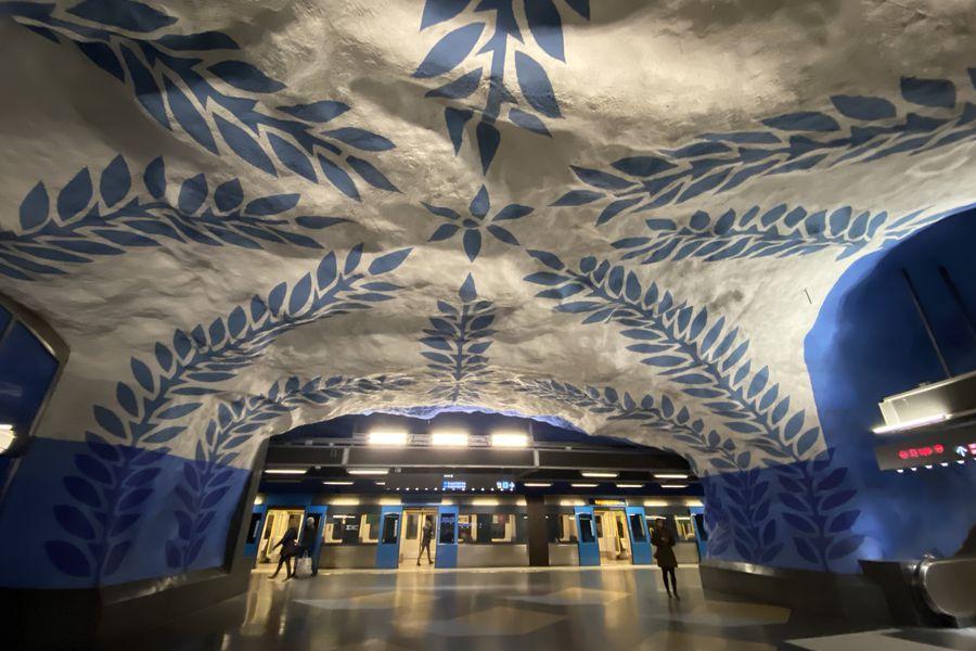 Metro Stockholm - Metro Stockholm Zweden - Vakantie Zweden - Doets Reizen