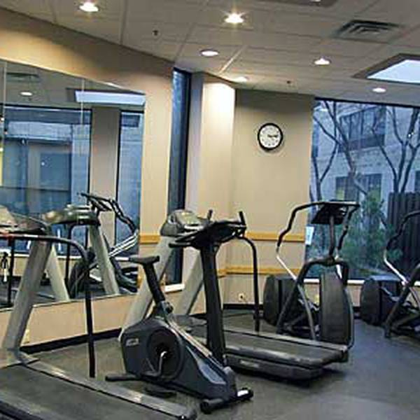 Radisson Corning - fitnessruimte