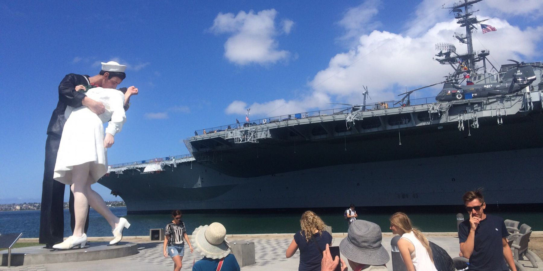 USS Midway - San Diego - California - Amerika - Doets Reizen