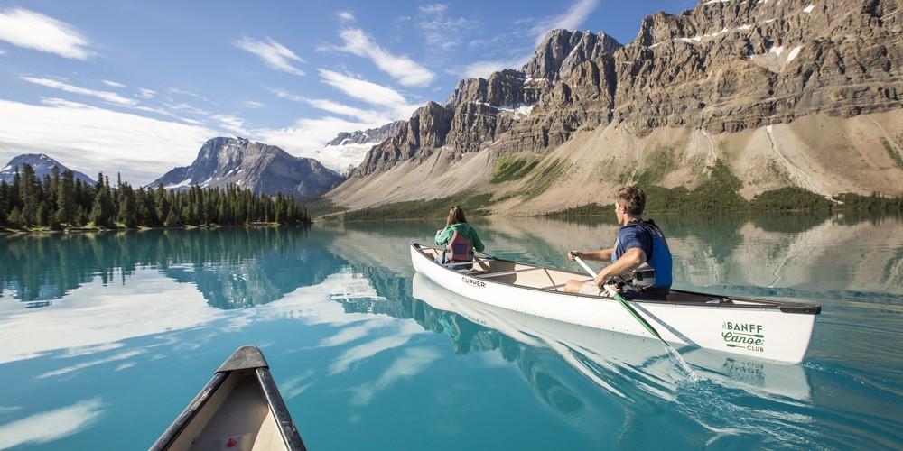 Bow Lake - Banff National Park - Alberta - Canada - Doets Reizen