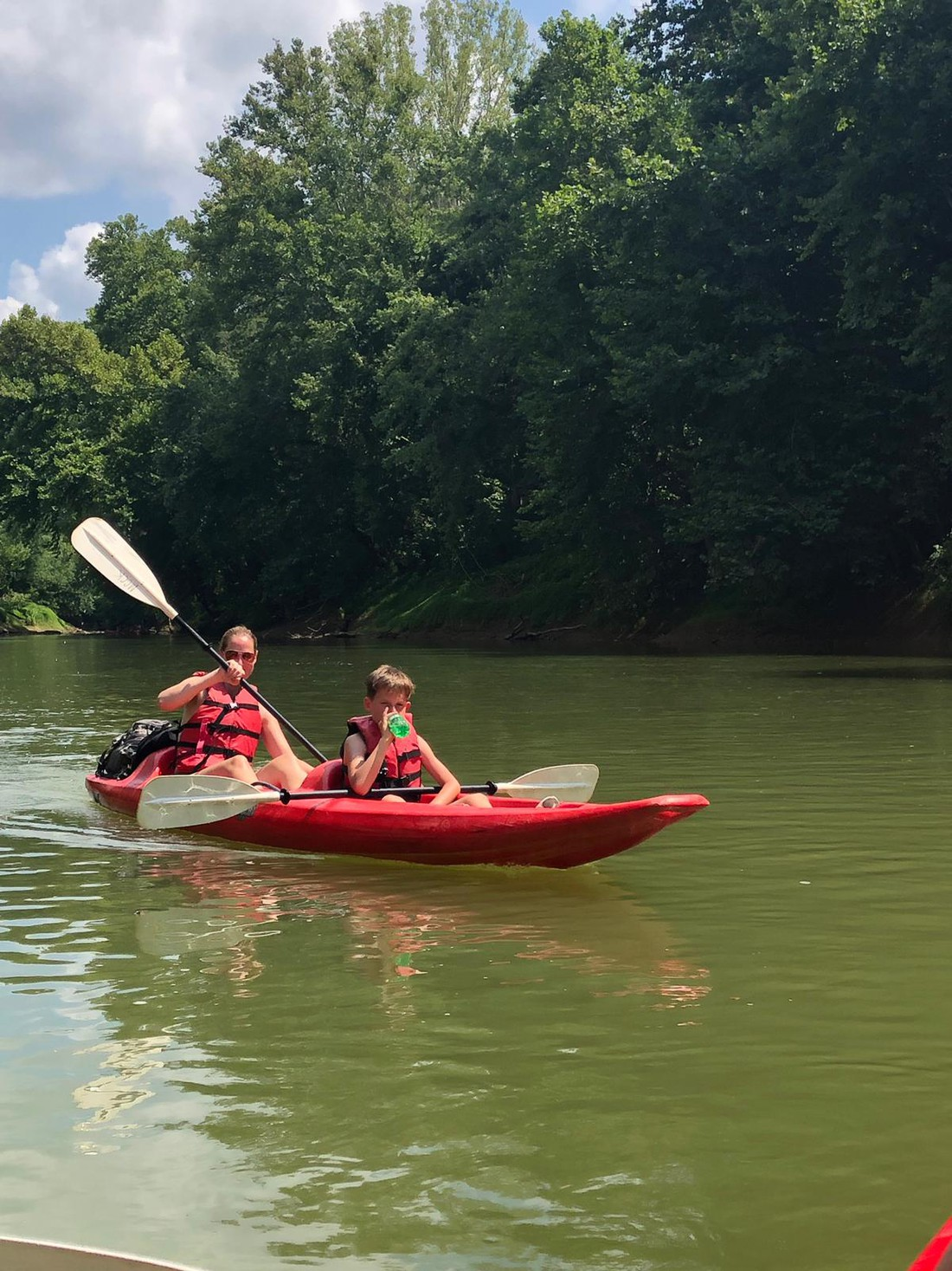 Kajakken Green River - Kentucky - Amerika - Doets Reizen