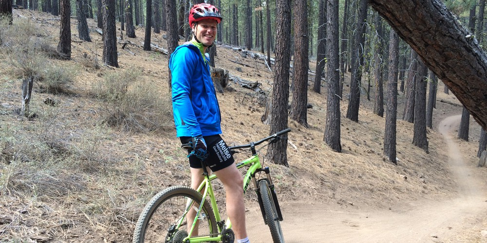 Mountainbiken Bend, Oregon