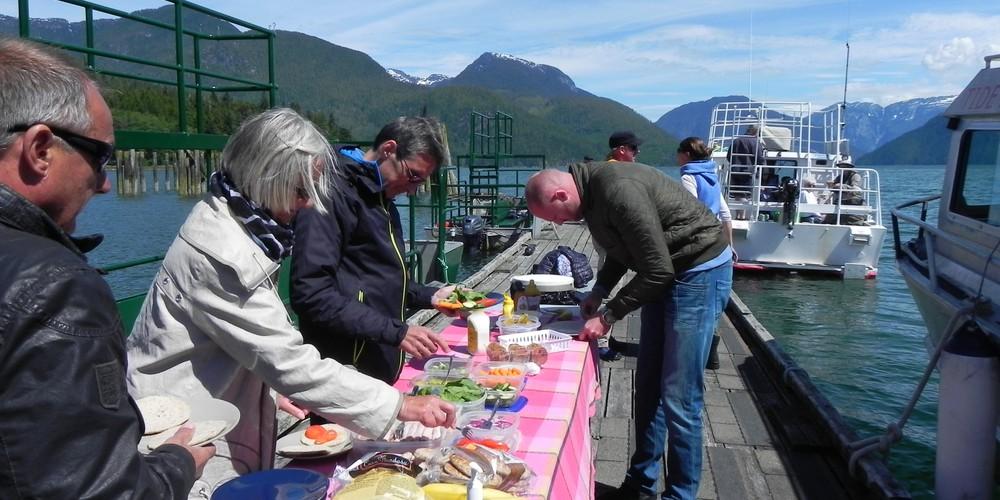 Tide Rip Tours - Telegraph Cove - Vancouver Island - British Columbia - Canada - Doets Reizen