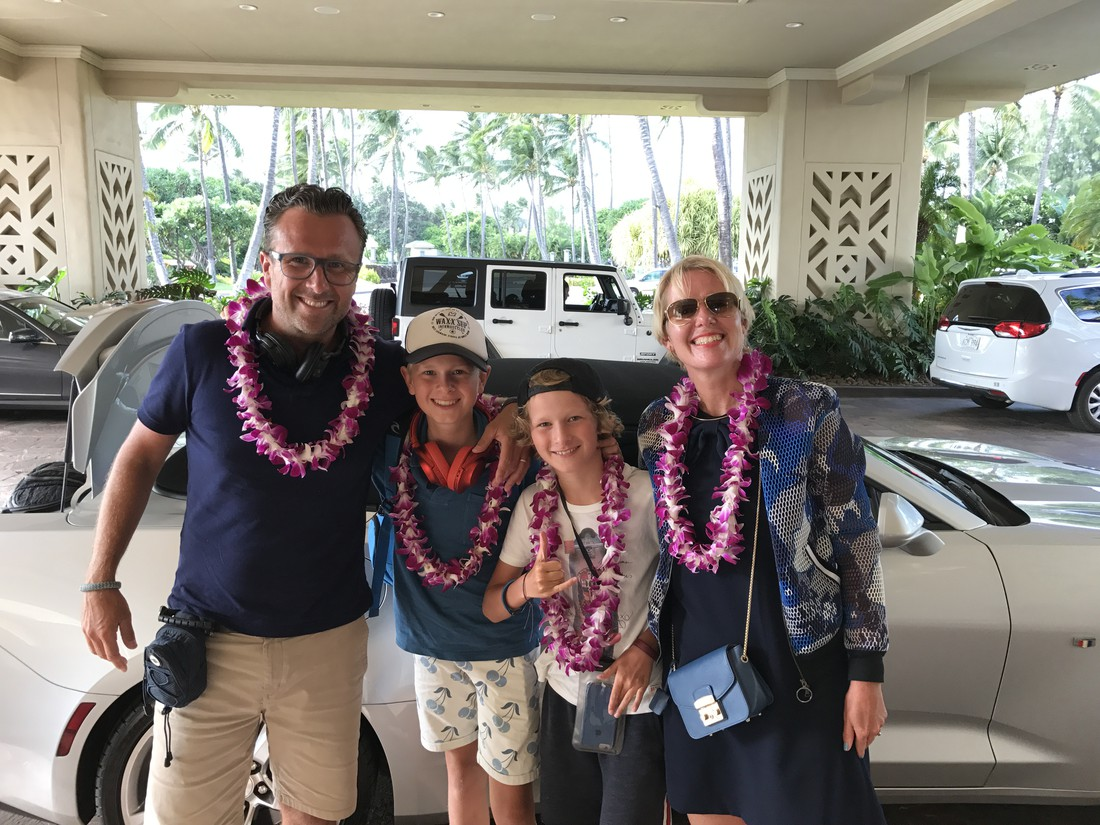Elske op Kauai, leigreeting