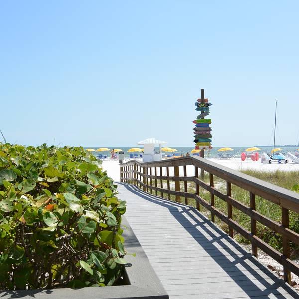 Pink Shell Beach Resort - strand