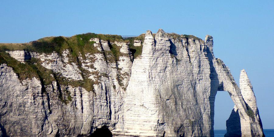 Etretat Cliffs Honfleur Doets Reizen- Afbeelding van vicky-christell via Pixabay