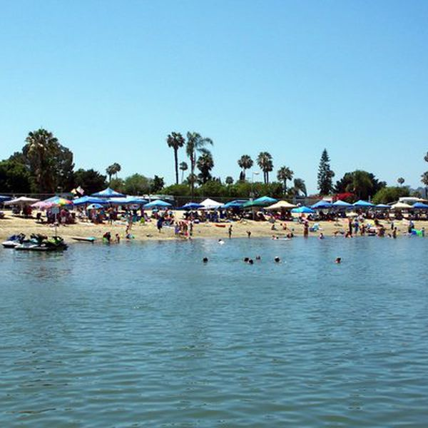Mission Bay RV Resort, strand