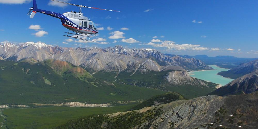 Helikoptervlucht Icefields Parkway - Alberta - Canada - Doets Reizen