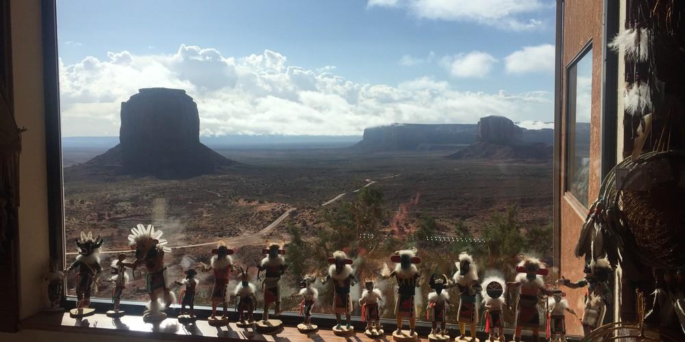 uitzicht View Hotel Monument Valley