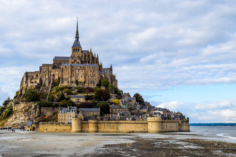 Mont Saint Michel Normandie Frankrijk Doets Reizen - Afbeelding van 2990108 via Pixabay