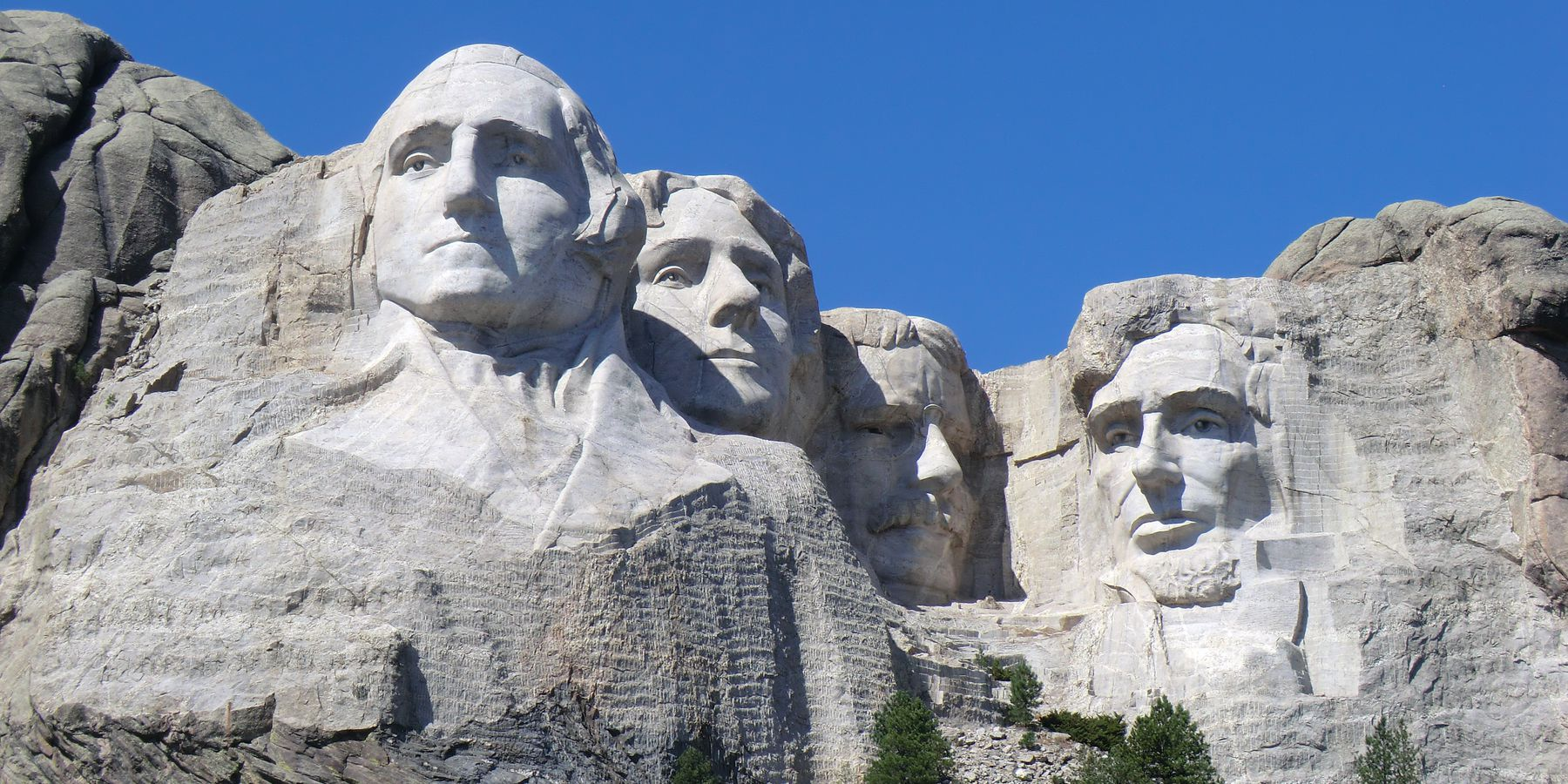 Mount Rushmore National Memorial - South Dakota - Amerika - Doets Reizen