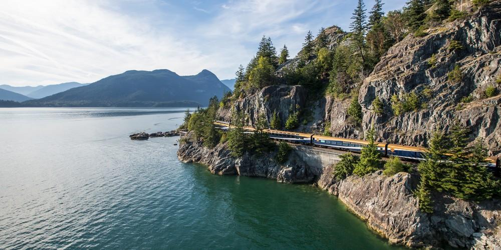 Sea to Sky - Treinreizen - Rocky Mountaineer - Canada - Doets Reizen