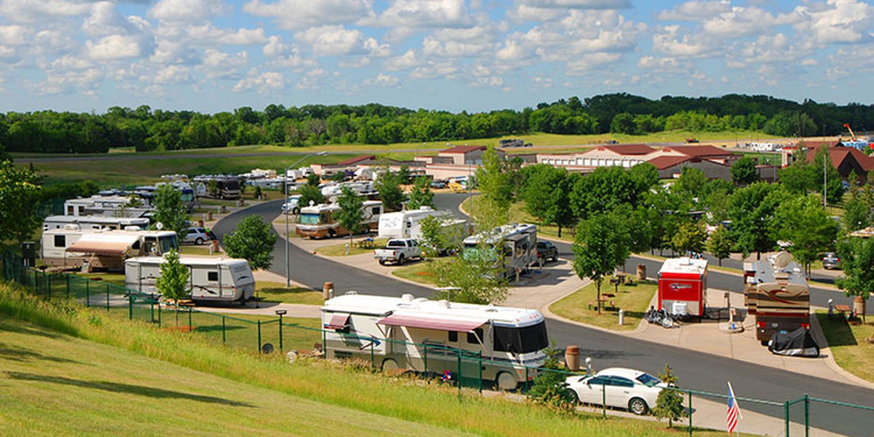 Dakotah Meadows RV resort - campingplaats
