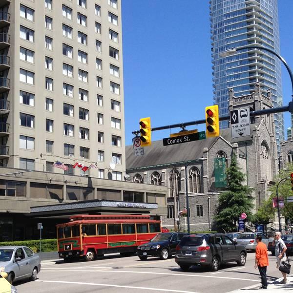 Century Plaza Vancouver -exterior