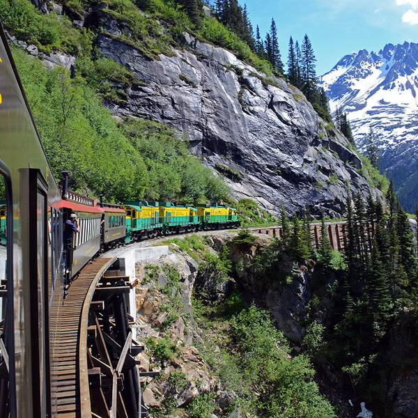 White Pass Summit Excursion - Skagway - Alaska - Doets Reizen