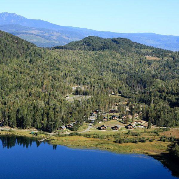 Alpine Meadows Resort - luchtfoto