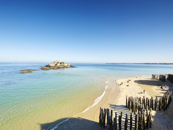 Saint Malo strand | Frankrijk | Doets Reizen