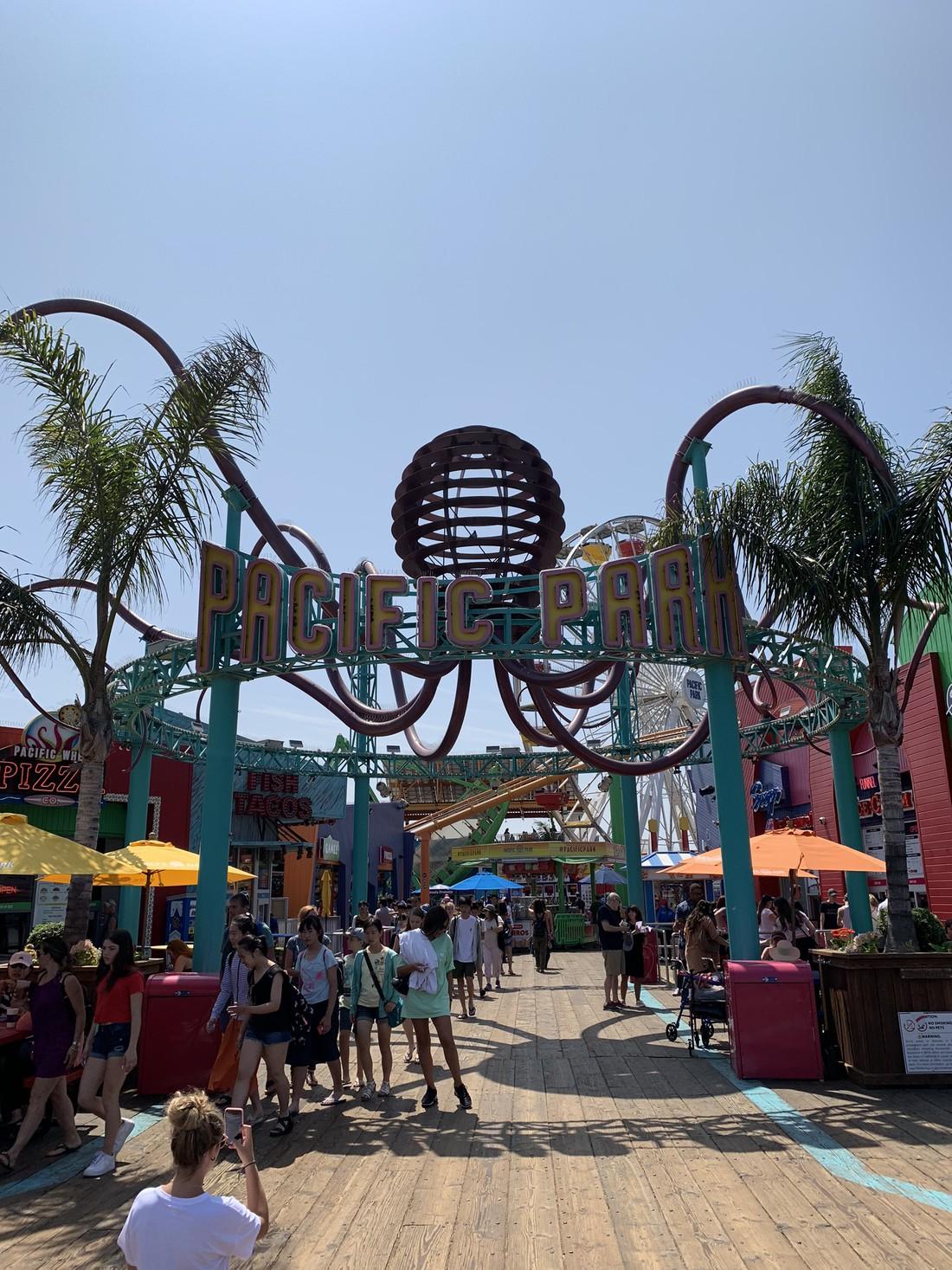 Santa Monica - Los Angeles - California - Amerika - Doets Reizen