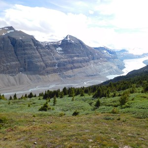 25 juli 2016: Lake Louise - Columbia Icefield Centre - Dag 5 - Foto
