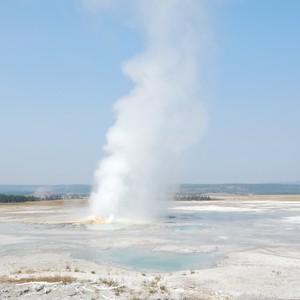 Geyser Country in Yellowstone Park - Dag 12 - Foto