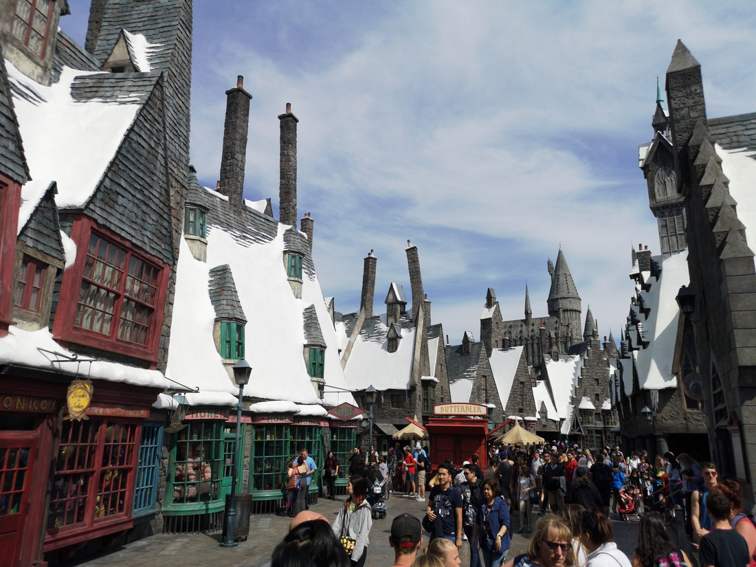 Harry Potter - Universal Studio's - Los Angeles - California - Amerika - Doets Reizen