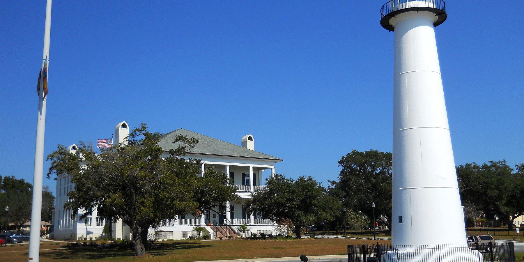 Biloxi Light House - Mississippi - Amerika - Doets Reizen