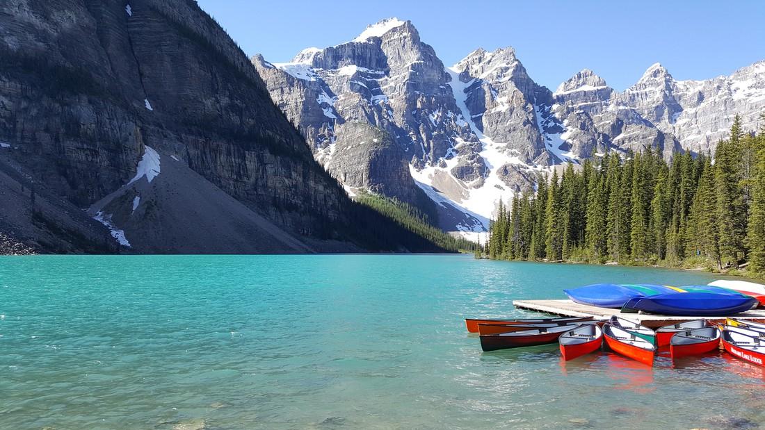 Moraine Lake -Banff National Park - Alberta - Canada - Doets Reizen