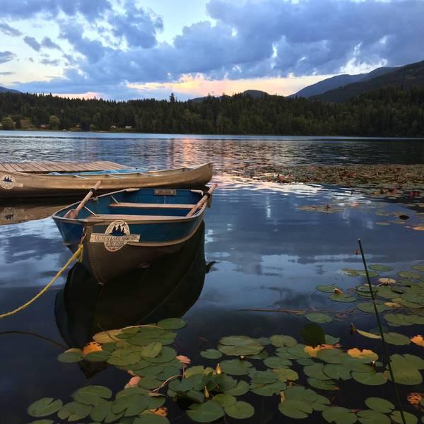 Dutch Lake Resort & RV Park, bootje op Dutch Lake