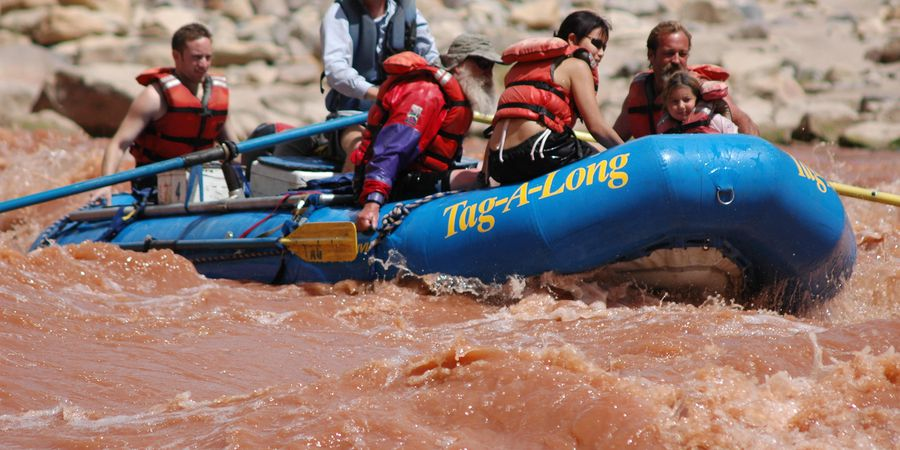 Raft Colorado River - Moab - Utah - Doets Reizen